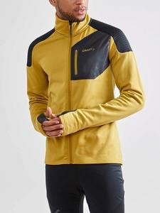 Żółta bluza Craft w sportowym stylu