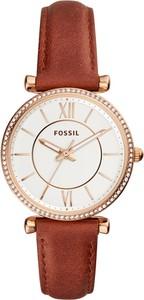 Zegarek FOSSIL - Carlie ES4428 Brown/Gold