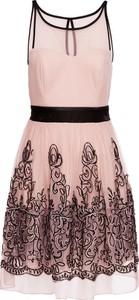 Sukienka bonprix bodyflirt boutique midi rozkloszowana