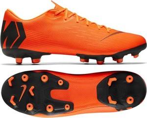 Pomarańczowe buty sportowe Nike ze skóry