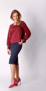 Czerwona bluzka Nommo