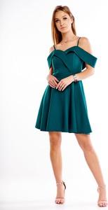Sukienka Ptakmoda.com mini z odkrytymi ramionami