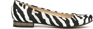 Baleriny Zapato ze skóry w stylu klasycznym