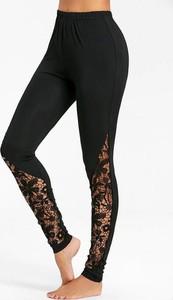 Czarne legginsy Sandbella