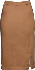 Brązowa spódnica bonprix bpc selection premium