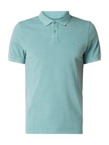 T-shirt Review w stylu casual z krótkim rękawem z bawełny
