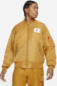 Żółta kurtka Nike w stylu casual