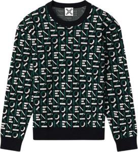 Zielony sweter Kenzo w młodzieżowym stylu