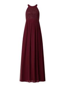 Czerwona sukienka Jake*s Cocktail bez rękawów z szyfonu z dekoltem w kształcie litery v
