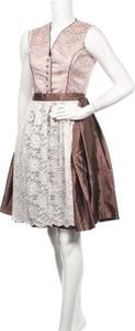 Brązowa sukienka Mondkini
