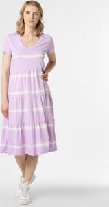 Fioletowa sukienka Noisy May midi