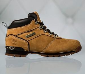 Brązowe buty zimowe Timberland w stylu casual