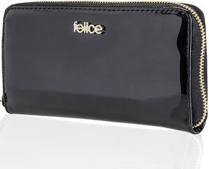 Granatowy portfel Felice