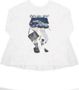 Bluzka dziecięca Mayoral z długim rękawem