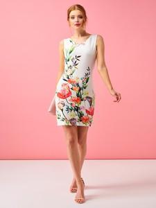 Sukienka Smashed Lemon mini z tkaniny