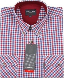 Koszula Dockland z klasycznym kołnierzykiem z krótkim rękawem