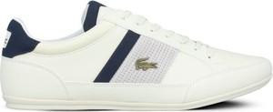 Buty sportowe Lacoste w sportowym stylu sznurowane