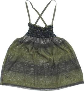 Zielona bluzka dziecięca john richmond dla dziewczynek