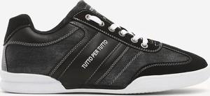 Czarne buty sportowe Edoti sznurowane w sportowym stylu