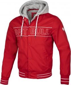 Czerwona kurtka Pit Bull West Coast krótka