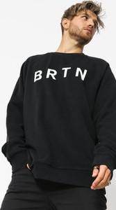 Czarna bluza Burton z bawełny w młodzieżowym stylu