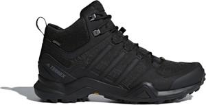 Czarne buty zimowe Adidas w sportowym stylu