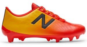 Żółte buty sportowe dziecięce New Balance sznurowane