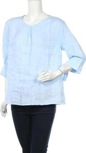 Bluzka Robert Friedman z okrągłym dekoltem w stylu casual