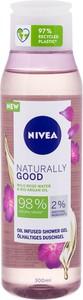 Nivea Naturally Good Wild Rose Water Żel Pod Prysznic 300Ml