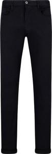 Czarne spodnie Emporio Armani w stylu casual