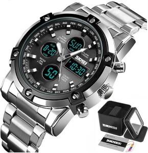 Zegarek męski SKMEI 1389 bransoleta czarny LED