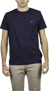 T-shirt Gant w stylu casual z krótkim rękawem