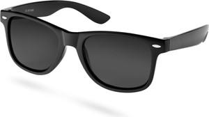 Trendhim Matowe czarne okulary przeciwsłoneczne