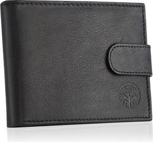 Czarny portfel męski Betlewski