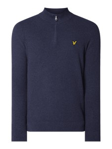 Niebieski sweter Lyle & Scott