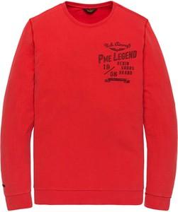 Czerwona bluza Pme Legend z bawełny