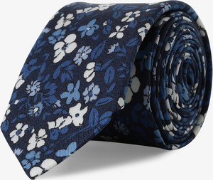 Niebieski krawat Drykorn