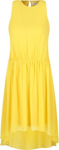 Sukienka Silvian Heach mini bez rękawów z okrągłym dekoltem