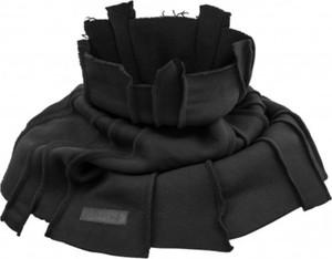 Czarny szalik Synthetic 100%natural