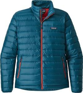 Niebieska kurtka Patagonia w stylu casual