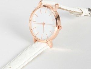 Sinsay - Zegarek - Biały