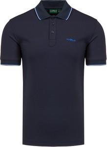 Koszulka polo Chervo w stylu casual z tkaniny