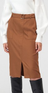 Brązowa spódnica Mohito
