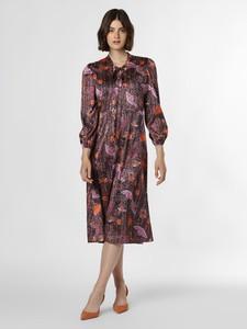Sukienka Ipuri prosta z żabotem w stylu casual