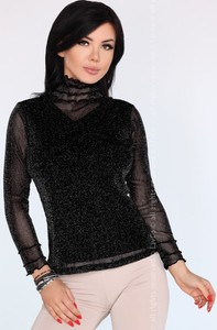 Bluzka MERRIBEL w stylu casual z długim rękawem