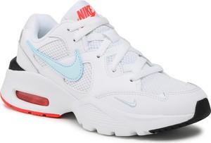 Buty sportowe Nike z płaską podeszwą ze skóry ekologicznej dual fusion