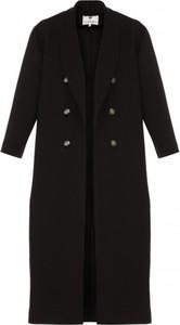 Czarny płaszcz Yuliya Babich