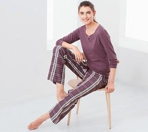 Fioletowa piżama Tchibo