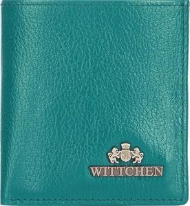 Turkusowy portfel Wittchen