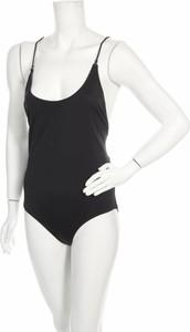 Czarny strój kąpielowy Samsøe & Samsøe w sportowym stylu